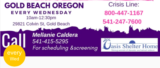 Support Group, Gold Beach